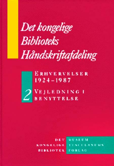 Erhvervelser 1924-1987 A-K af Det Kongelige Biblioteks Håndskriftafdeling