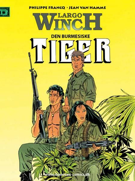 Den burmesiske tiger af Jean van Hamme