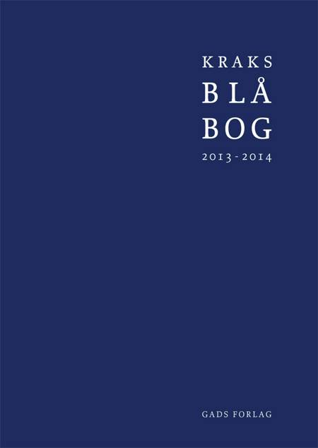 Kraks Blå Bog 2013/14