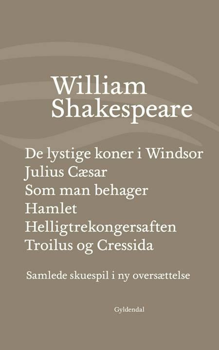 Samlede skuespil IV af William Shakespeare