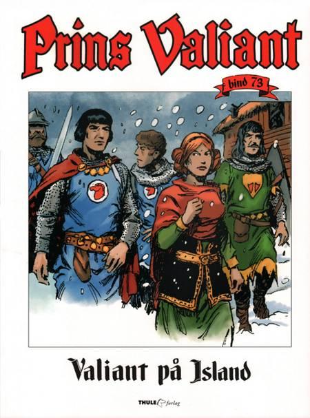 Valiant på Island af Harold R. Foster