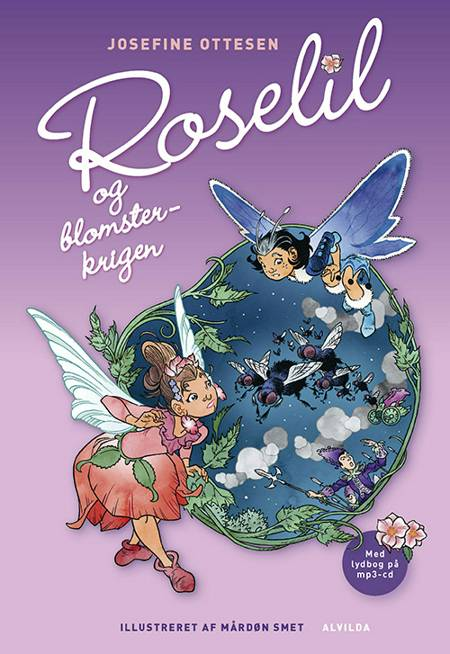 Roselil og Blomsterkrigen af Josefine Ottesen