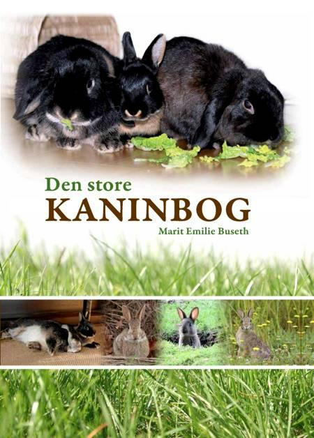 Den store kaninbog af Marit Emilie Buseth