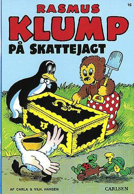 Rasmus Klump på skattejagt af Vilhelm Hansen og Carla Hansen