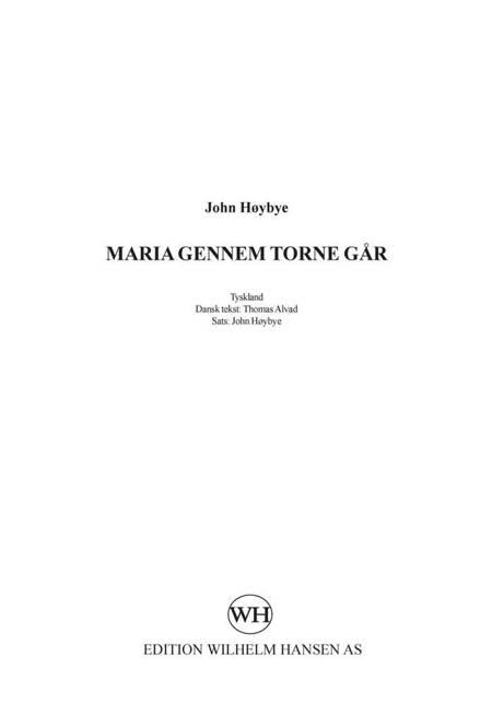 Maria gennem torne går af John Høybye
