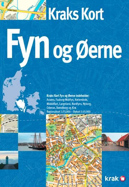 Kraks kort - Fyn og øerne