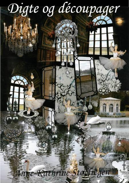 Digte og découpager af Anne Kathrine Stoffregen