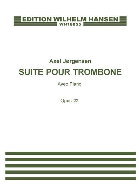 Suite pour Trombone, Op.22 af Axel Jørgensen