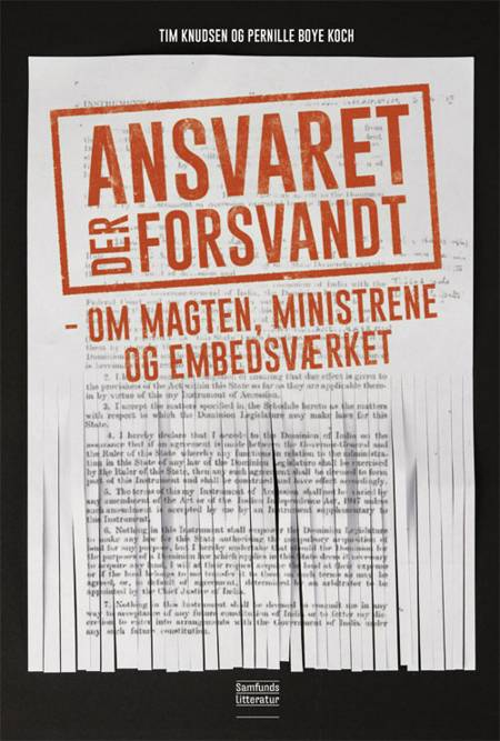 Ansvaret der forsvandt af Tim Knudsen og Pernille Boye Koch m.fl.