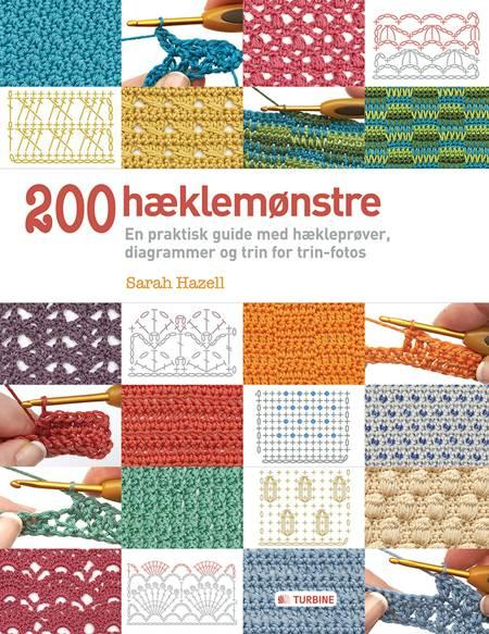 200 hæklemønstre af Sarah Hazell