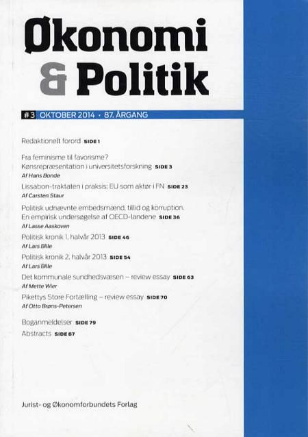 Økonomi & Politik 3-2014