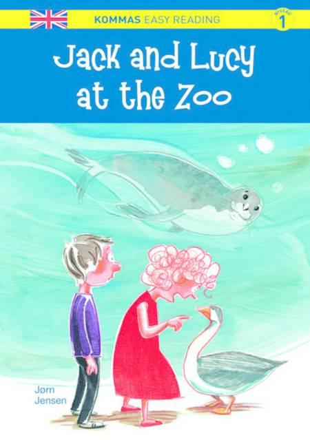 Jack and Lucy at the zoo af Jørn Jensen