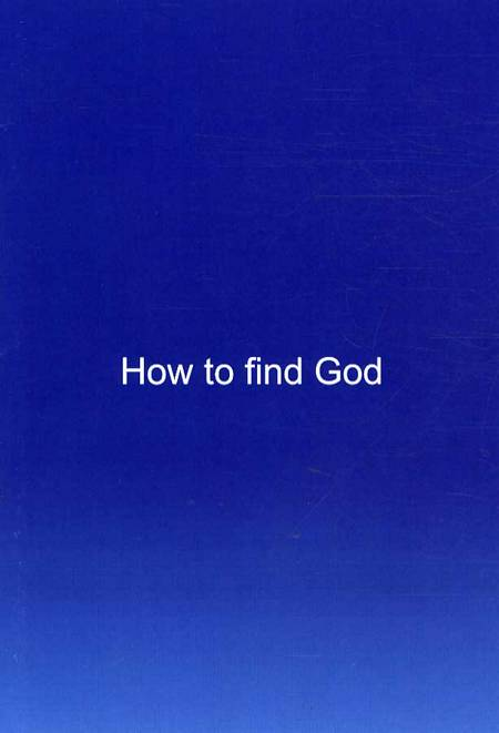 How to find God af Robin Meaton