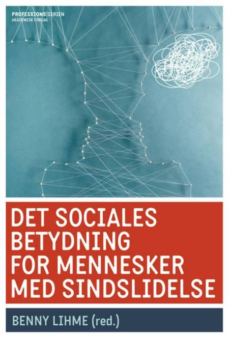 Det sociales betydning for mennesker med sindslidelse af Pernille Jensen, Benny Lihme, Lis Møller, Abbas Amanzadeh og Alain Topor mfl. m.fl.
