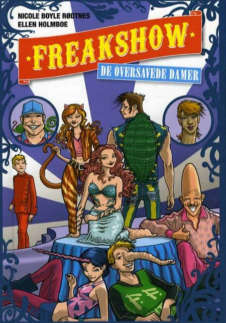 Freakshow - de oversavede damer af Nicole Boyle Rødtnes og Ellen Holmboe