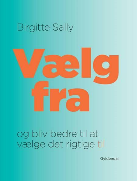 Vælg fra - og bliv bedre til at vælge det rigtige til af Birgitte Sally
