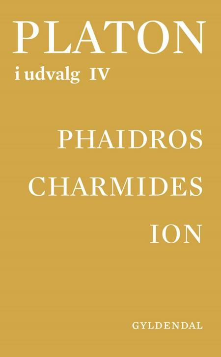 Platon i udvalg Phaidros af Jette Hesse, Marcel Lysgaard Lech og Clara Elisabet Bryld