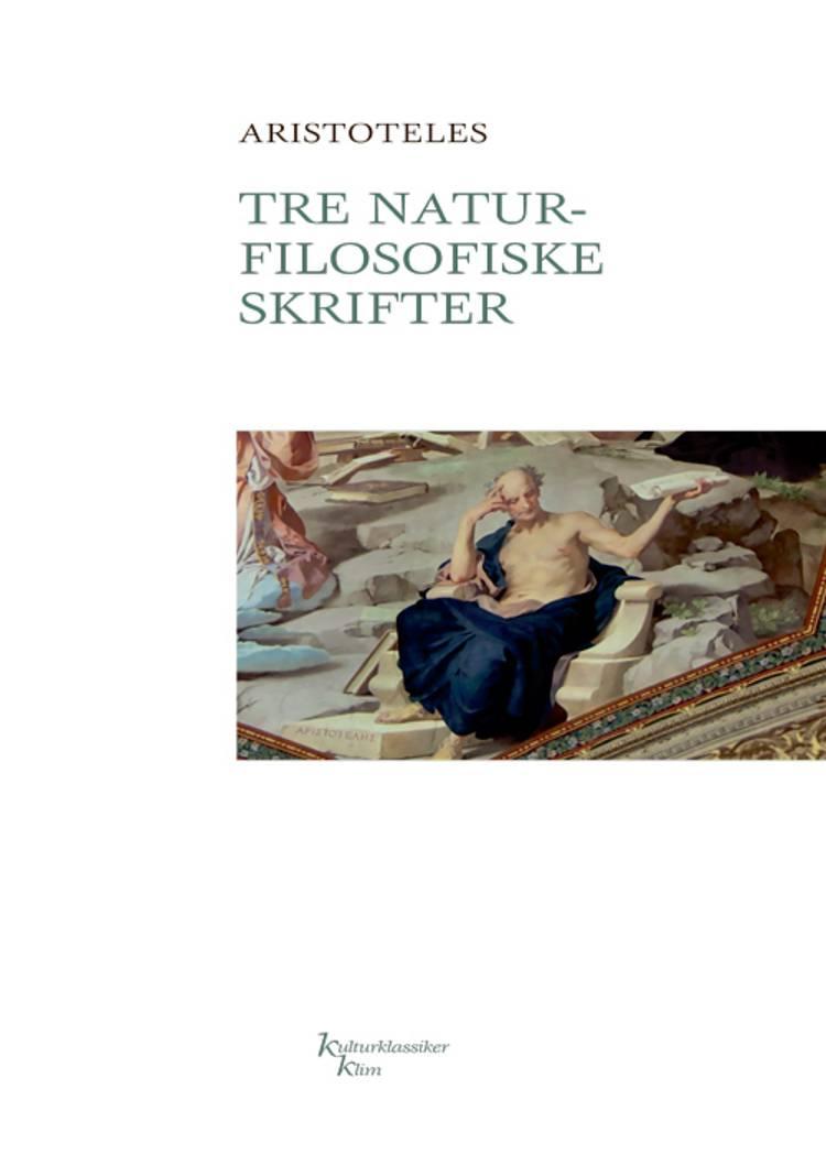 Tre naturfilosofiske skrifter af Aristoteles