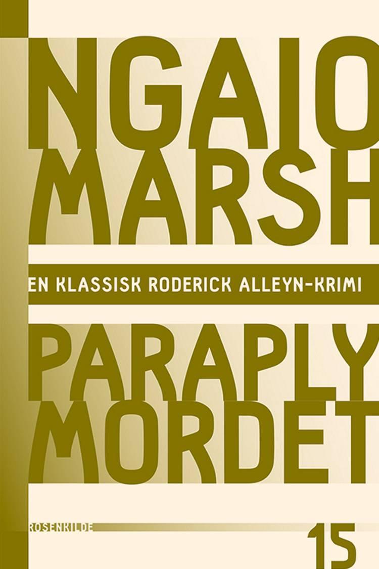 Paraplymordet af Ngaio Marsh