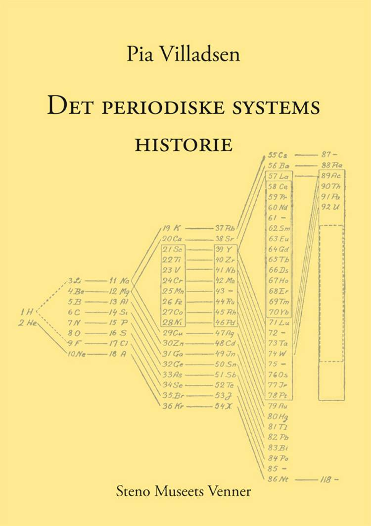 Det periodiske systems historie af Pia Villadsen