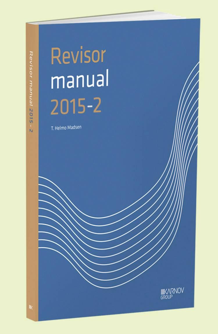 RevisorManual 2015/2 af T. Helmo Madsen