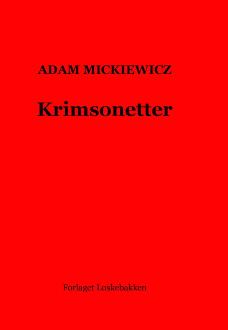 Krimsonetter af Adam Mickiewicz