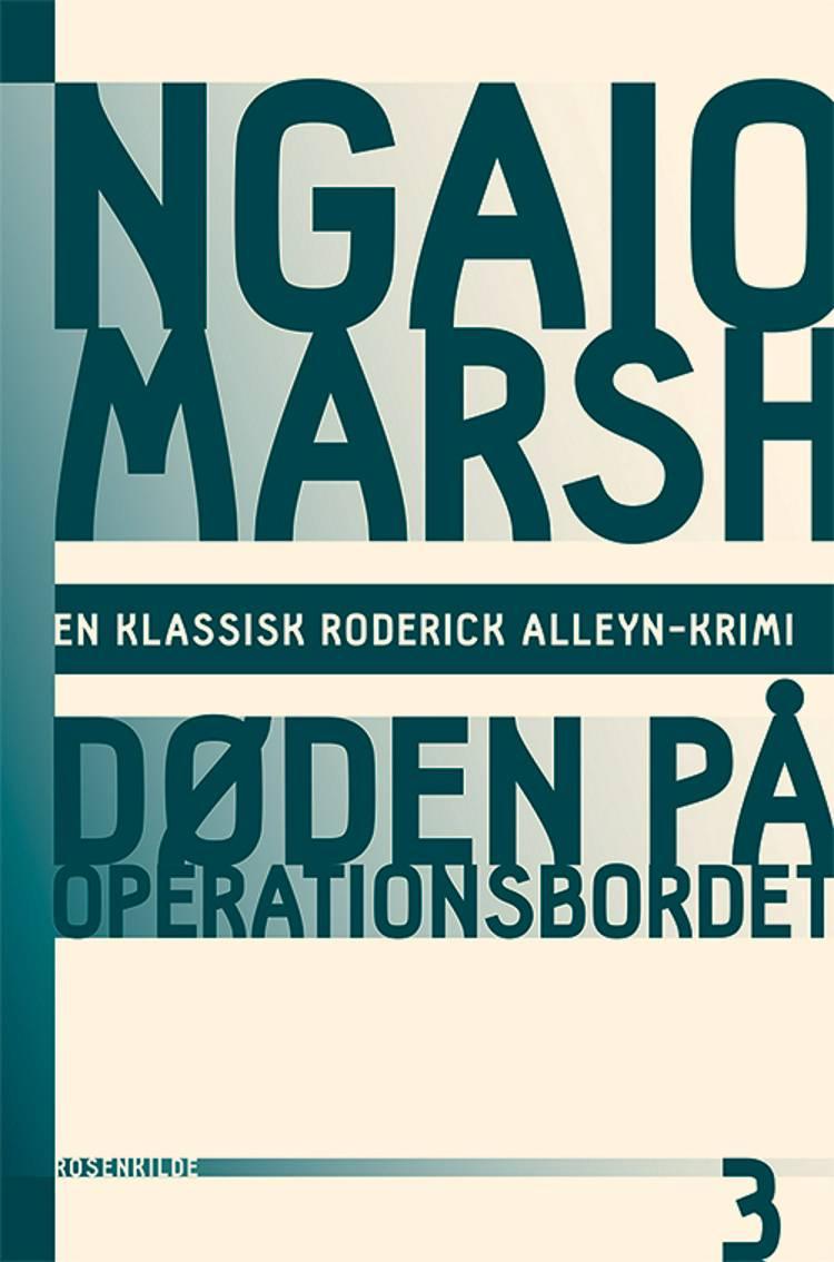 Døden på operationsbordet af Ngaio Marsh
