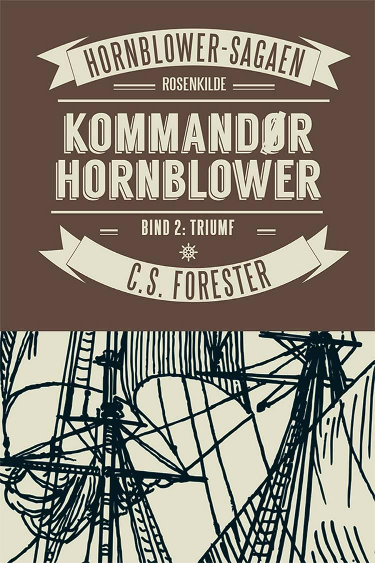 Kommandør Hornblower af C. S. Forester og C.S. Forester