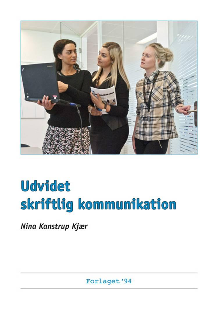 Udvidet skriftlig kommunikation af Nina Kanstrup Kjær
