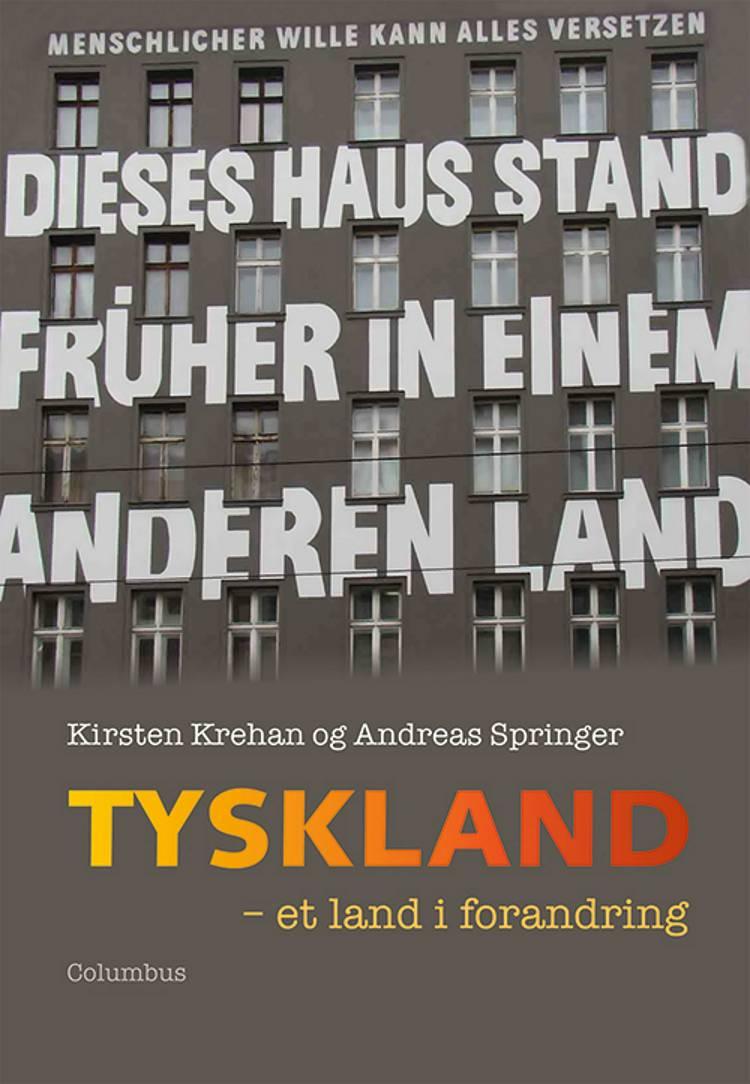 Tyskland - et land i forandring af Kirsten Krehan og Andreas Springer