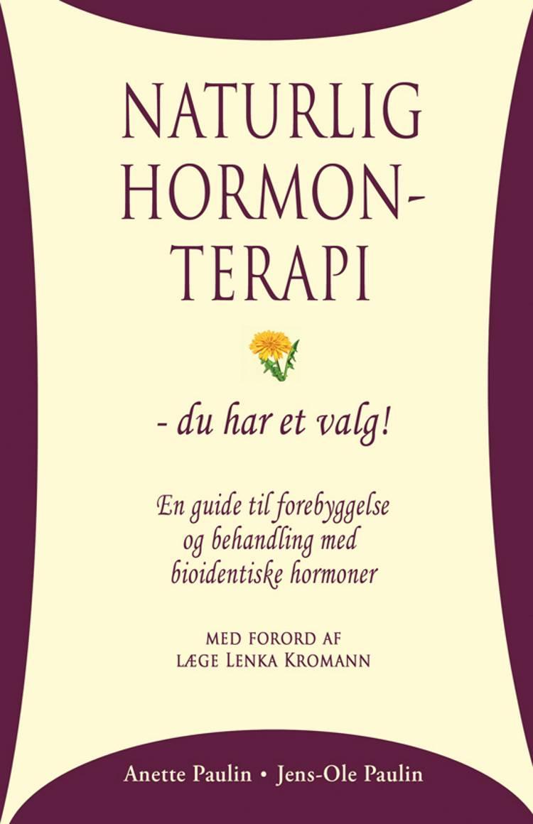 Naturlig hormonterapi af Jens-Ole Paulin, Anette Paulin og Jens Ole Paulin