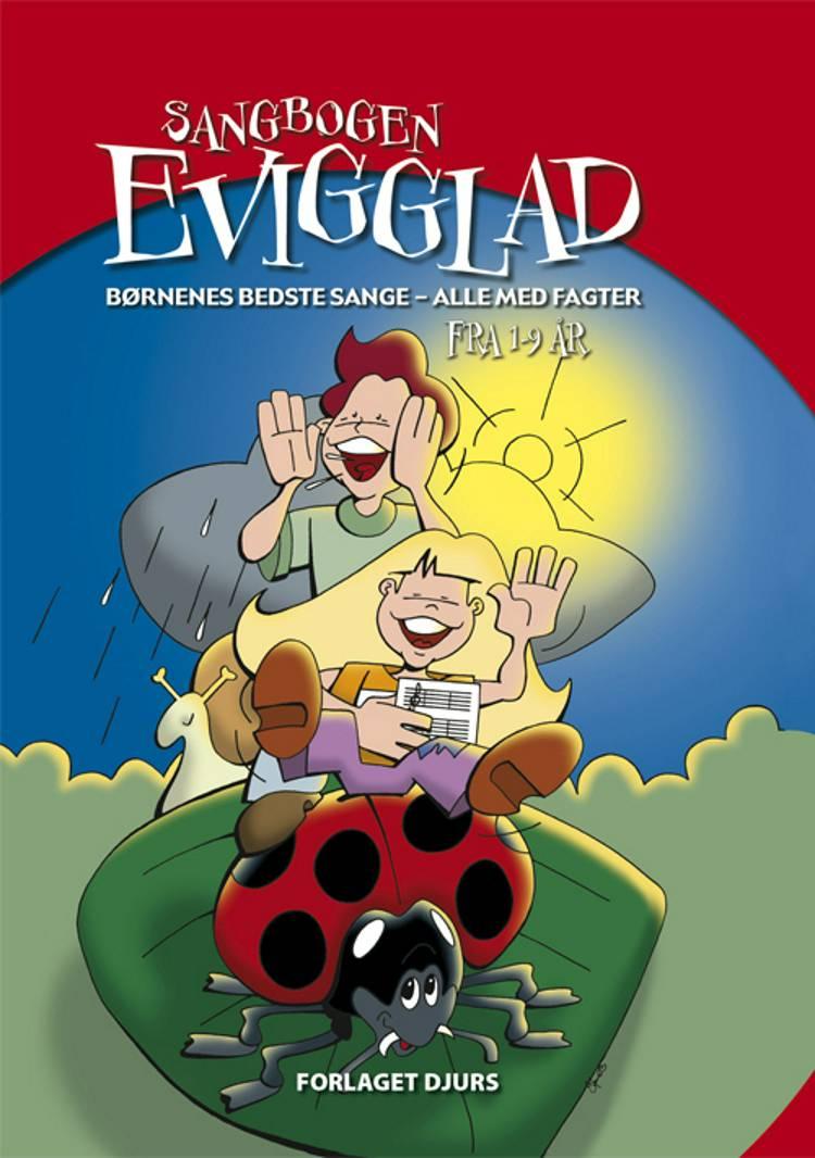 Sangbogen Evigglad med CD
