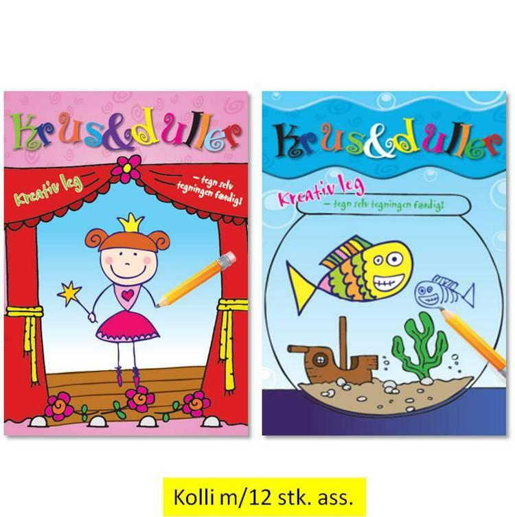 Krus & duller 1-2 (pakke m/10 ass.)