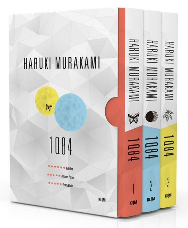 1Q84 Bog 1-3 af Haruki Murakami