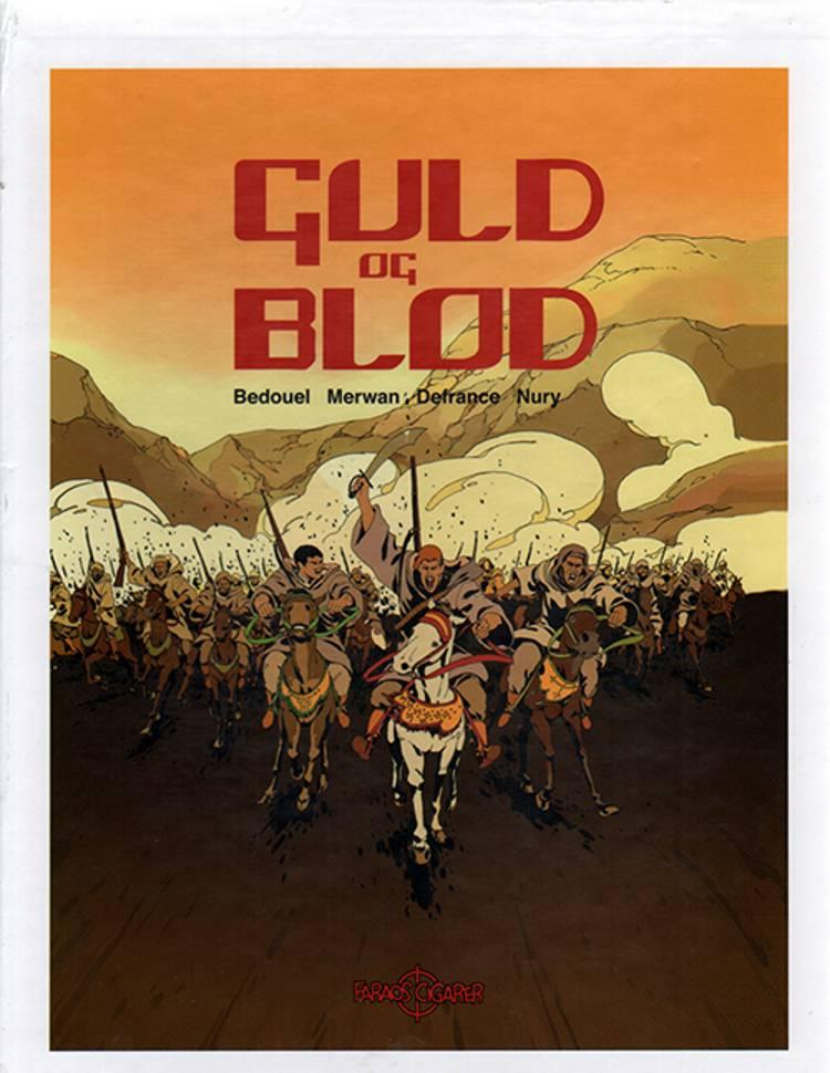 Guld og Blod bokssæt 1-4 af Fabien Nury og Maurin Defrance