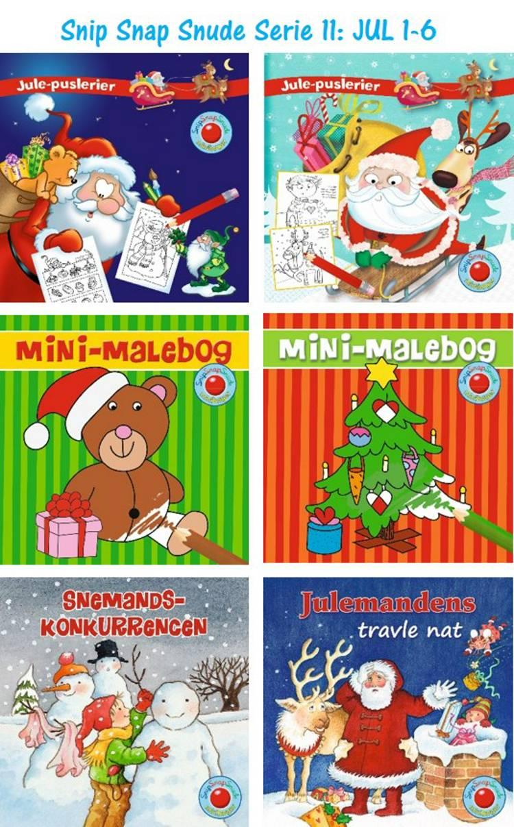 Julebøger 1-6 (display m/48 ass.)