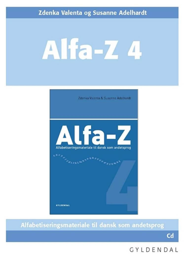 Alfa. Z. 4 lærer-cd af Zdenka Valenta og Susanne Adelhardt