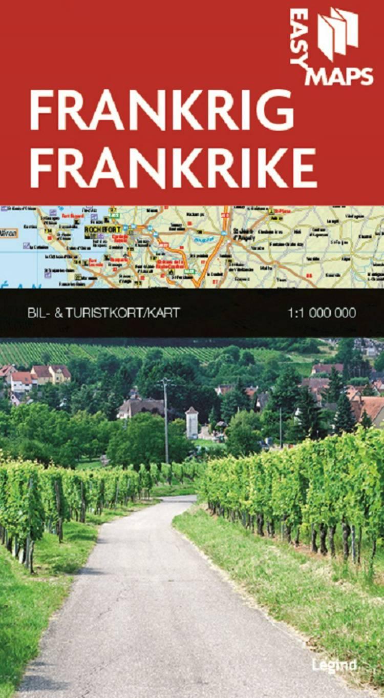 Easy Maps, Frankrig /frankrike af S og Legind A