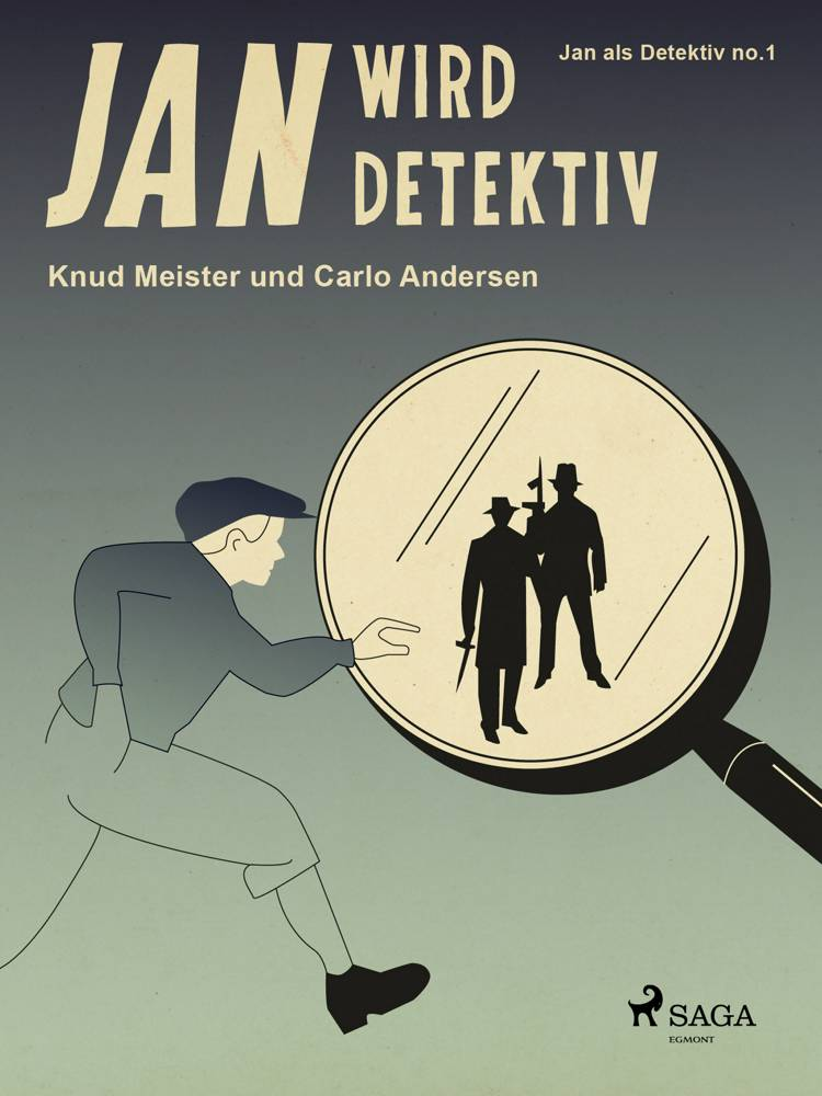Jan wird Detektiv af Knud Meister og Carlo Andersen