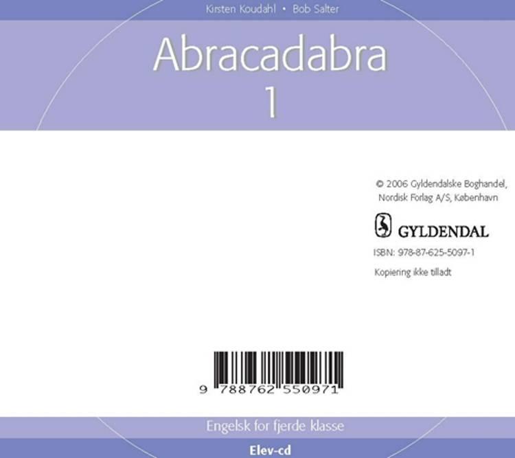 Abracadabra 1 for 4. klasse - Elev CD af Kirsten Koudahl
