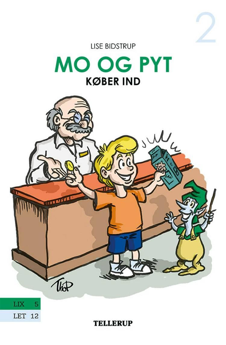 Mo og Pyt køber ind af Lise Bidstrup