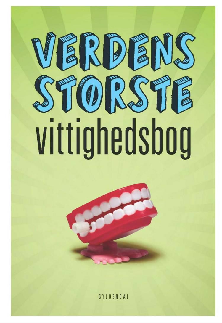 Verdens største vittighedsbog af Sten Wijkman Kjærsgaard