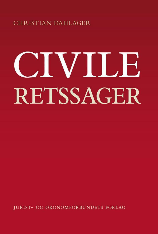 Civile retssager af Christian Dahlager
