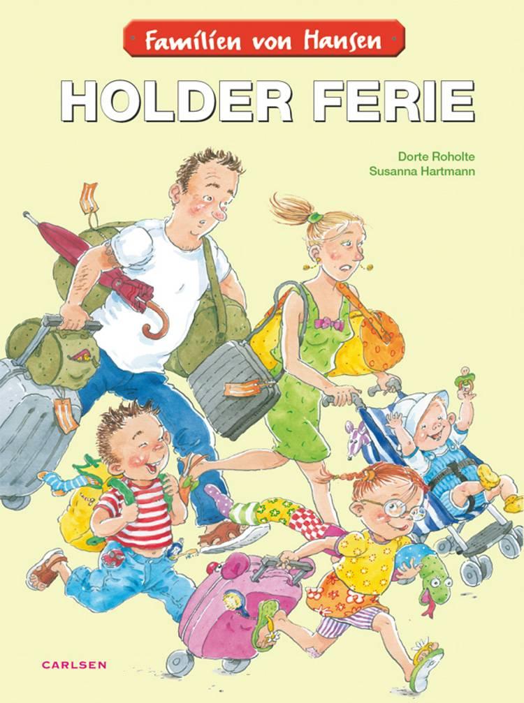 Familien von Hansen holder ferie af Dorte Roholte