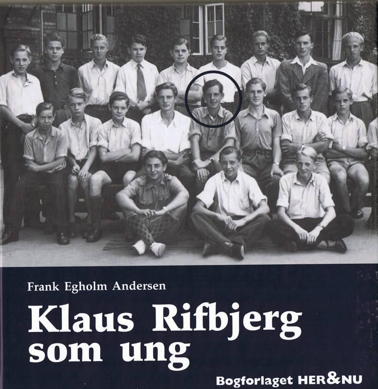 Klaus Rifbjerg som ung af Frank Egholm Andersen