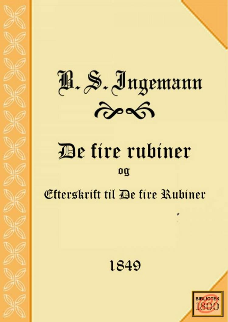 De fire rubiner af B. S. Ingemann