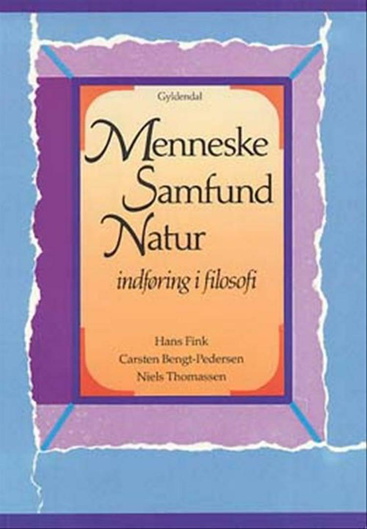 Menneske, samfund, natur af Hans Fink, Karin-Ann Madsen, Carsten Bengt-Pedersen og Niels Thomassen m.fl.