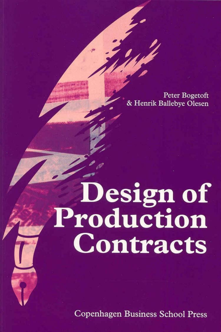 Design of Production Contracts af Peter Bogetoft, Henrik Ballebye Olesen og P. Bogetoft m.fl.