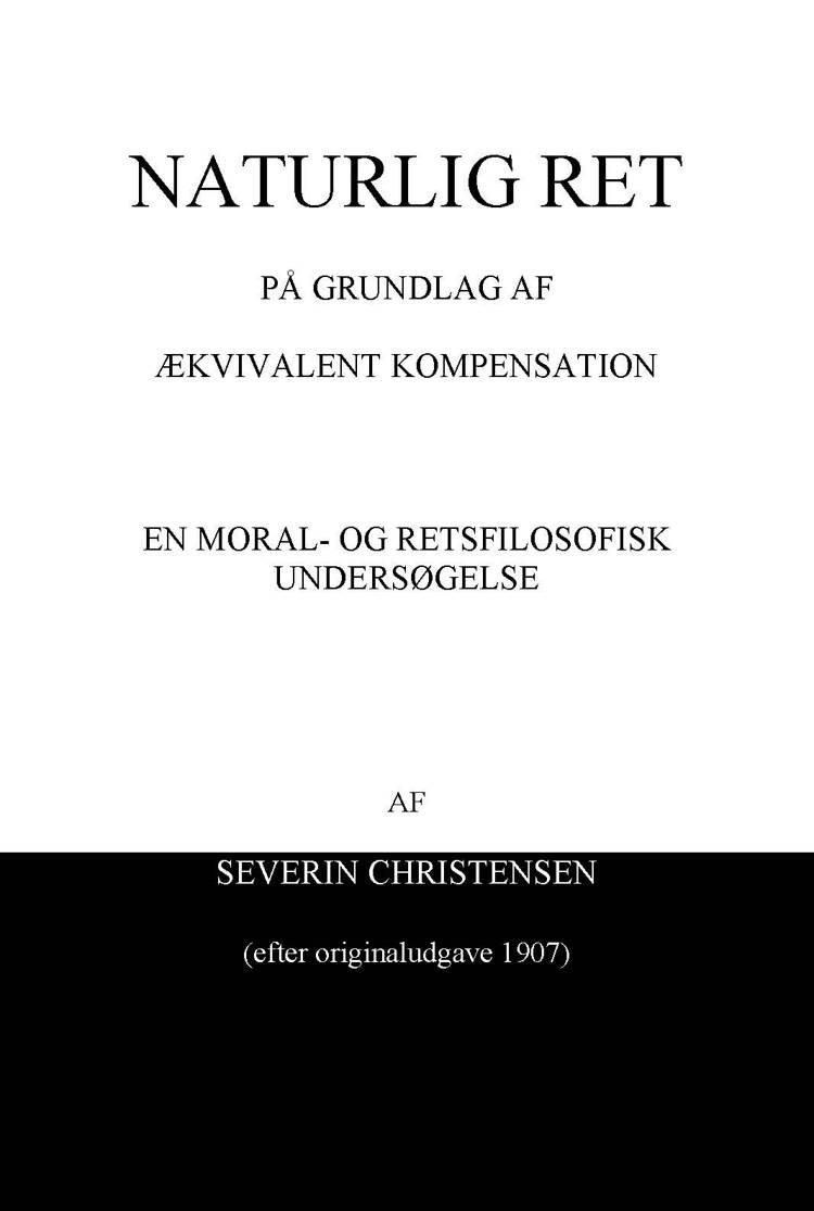 Naturlig ret af Severin Christensen