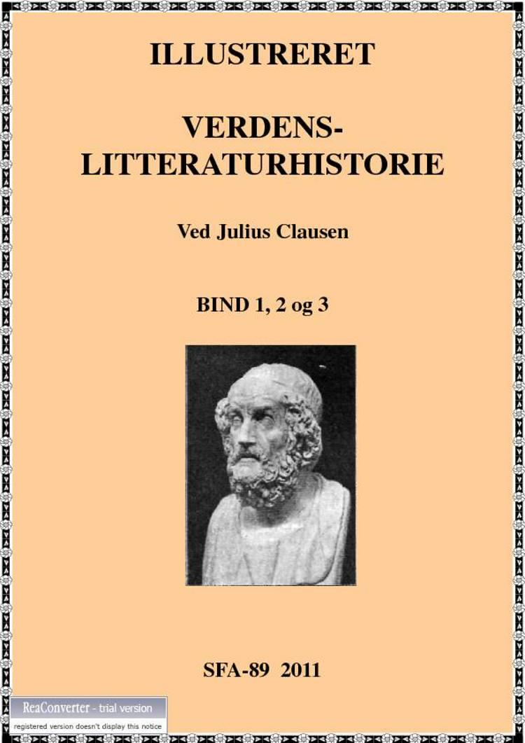 Illustreret verdens-litteratur af Julius Clausen